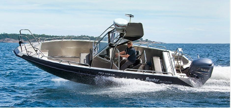 buster катер лодка