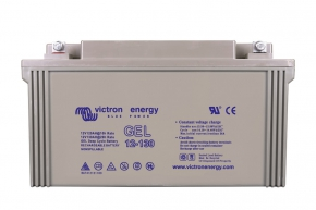 12V/130Ah Gel Deep Cycle Batt.