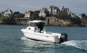 Smartliner 21 pilothouse